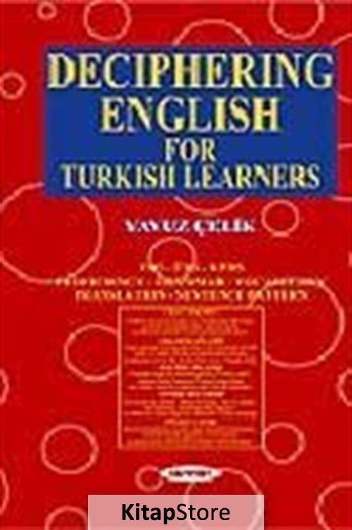 Deciphering English For Turkish Learners