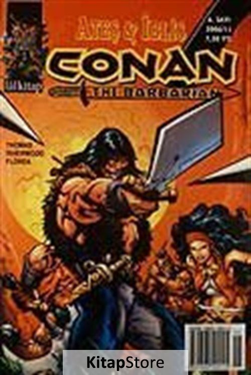 Conan The Barbarian Sayı:6 / Ateş İblis