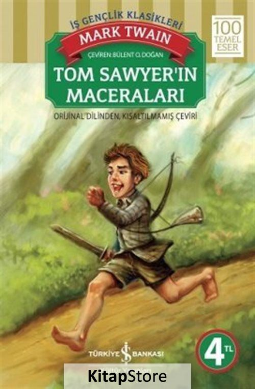 Tom Sawyer'in Maceraları (karton kapak)