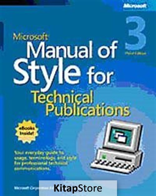 Microsoft Manual of Style for Technical Publications, Third Edition