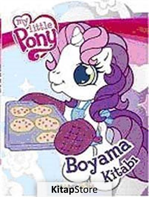 My Little Pony Mavi Boyama Kitabi 28 Indirimli