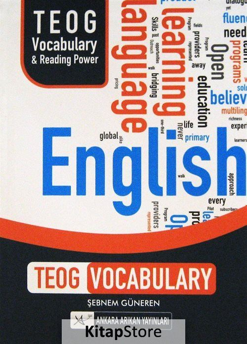 English Teog Vocabulary