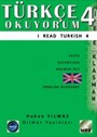 Türkçe Okuyorum 4 - I Read Turkish 4 & Texts - Exercises - Answer Key - Glossary : CD'Lİ