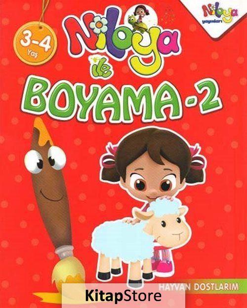 Niloya Ile Boyama 2 3 4 Yas Kollektif