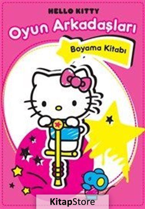 Hello Kitty Oyun Arkadaslari Boyama Kitabi Kollektif 23 Indirimli