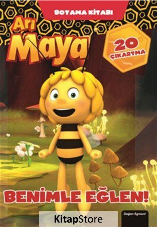 Ari Maya Benimle Eglen Boyama Kitabi 23 Indirimli