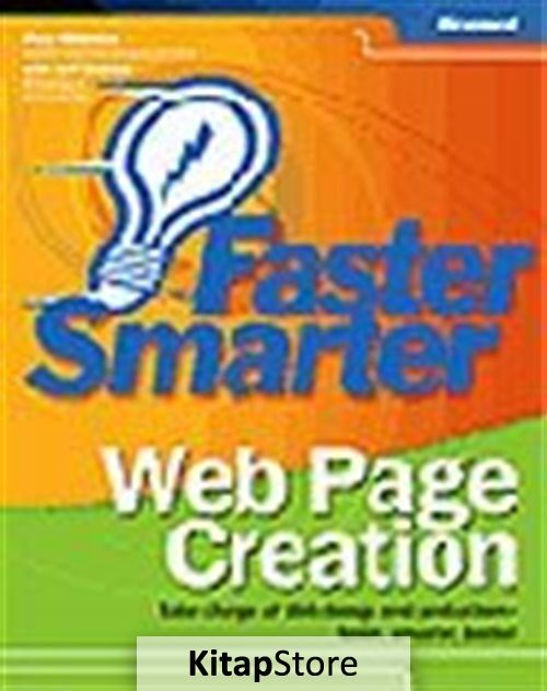 Faster Smarter Web Page Creation